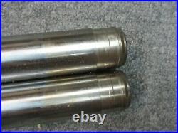 40 MM Fork Tubes 24 1/4 Inch Length Used fits Harley Davidson Models