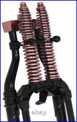 Antique Replica Black Copper 30 20 Stock Length Harley Springer Fork Front End