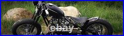 Black Narrow Springer Front End +2 Over Stock Length For Harley & Custom Bikes