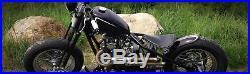 Black Narrow Springer Front End +4 Over Stock Length For Harley & Custom Bikes