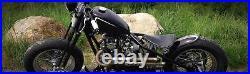 Black Narrow Springer Front End -4 Under Stock Length For Harley & Custom Bikes
