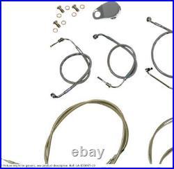 Cable kit 18-20 ape bar length stainless steel hd HARLEY DAVIDSON XLH SPOR