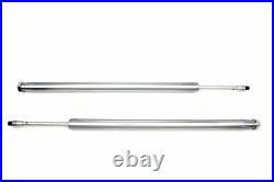 Chrom 35mm Gabel Rohr Assembly 23-1/2 Total Length For Harley-Davidson