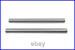 Chrom 41mm Gabel Rohr Set 24 Total Length For Harley-Davidson