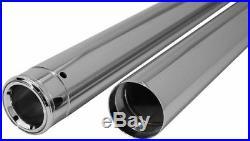 Chrome 39mm Front Fork Tubes 28.25 +4 Over Length Harley Sportster Dyna FXR