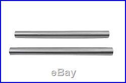 Chrome 41mm Fork Tube Set 24 Total Length fits Harley Davidson, V-Twin 24-0402