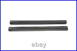 Chrome Fork Tube Set Stock Length fits Harley-Davidson