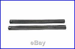 Chrome Fork Tube Set Stock Length for Harley Davidson by V-Twin