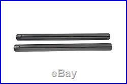 Chrome Fork Tube Set Stock Length, for Harley Davidson motorcycles, by V-Twin