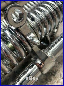 Chrome Springer Front End +10 Length Harley Davidson Sportster Bobber Chopper
