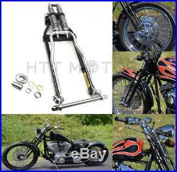 Chrome Springer Front End +4 Length For Harley Sportster Bobber Chopper dna