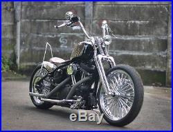 Chrome Springer Front End Stock Length (22) For Harley & Custom Bikes New