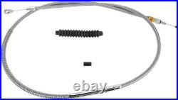Clutch cable stainless steel standard length HARLEY DAVIDSON FXSTSB BAD BOY