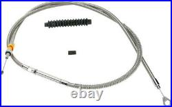 Clutch cable stainless steel standard length HARLEY DAVIDSON SOFTAIL EFI DY