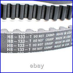 ContiTech Antriebsriemen Zahnriemen Harley 133 Zähne 1 Zoll Conti HB 133-1