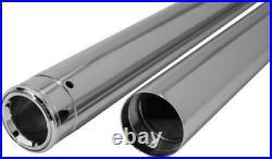 Custom Cycle Show Chrome Fork Tubes 39mm 24.25 Stock Length T1345 47-7035