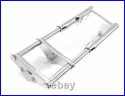 DNA 28 Length 3 Degree Chrome Billet 41MM Wide Glide Front End Forks Harley FX