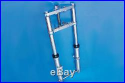 Fork Assembly with Chrome Sliders Stock Length for Harley Davidson by V-Twin
