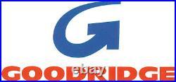 Goodridge High End Front Brake Line Kit +12in Length HARLEY-DAVIDSON FLHR etc