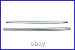 Hard Chrom 35mm Gabel Rohr Set 25-1/4 Overall Length For Harley-Davidson 75-83