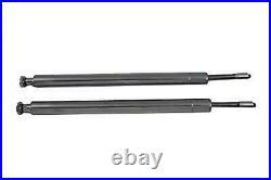 Hard Chrom 41mm Gabel Rohr Kit 21 Total Length For Harley-Davidson