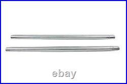Hard Chrom 41mm Gabel Rohr Set 24-7/8 Total Length For Harley-Davidson