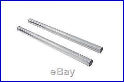 Hard Chrome 39mm Fork Tube Set 29 Total Length fits Harley Davidson, V-Twin 2