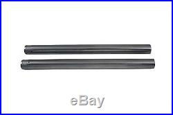 Hard Chrome 41mm Fork Tube Set 24-1/2 Total Length, for Harley Davidson, by V
