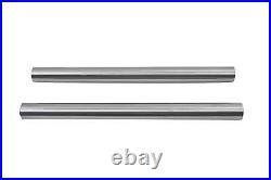 Hard Chrome Stock Length Fork Tube Set fits Harley-Davidson