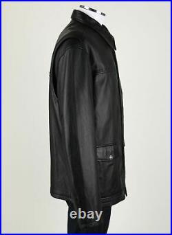 Harley-Davidson Mens Spirit Classic 3/4 Length Leather Jacket. US XL