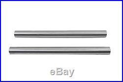 Harley Davidson Panhead Shovelhead Chrome 41mm Fork Tube Set 24 Length 4 Over