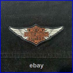 Harley-Davidson Short Length Corduroy Jacket Blouson Size S