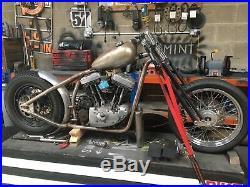 Harley Davidson Springer Forks Stock Length
