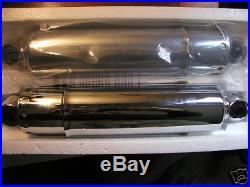 Harley PANHEAD. Or. SHOVELHEAD. 11 Chrome. SHORT Shocks 1958-1986
