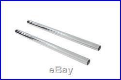 Harley Sportster 57-72 fork tubes, hard chrome, 22 3/4 stock length 33.4mm
