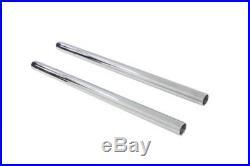 Harley, Sportster, 57-72 fork tubes, hard chrome, 22 3/4 stock length 33.4mm