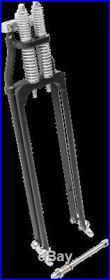Harley Springer Forks Black / Standard Length 0401-0079