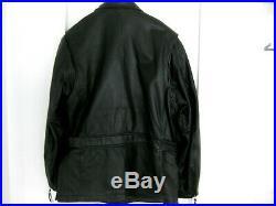 J Harley Davidson Motorcycle 3/4 Length Belted Leather XL Jacket