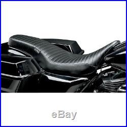 LePera Pleated Cobra Full-Length Seat for 2008-2016 Harley Touring Models