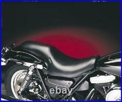 LePera Silhouette Smooth Full Length Seat Harley-Davidson FXR 1982-1994