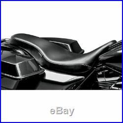 LePera Smooth Cobra Full-Length Seat for 2008-2016 Harley Touring Models