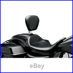 LePera Smooth Outcast Full-Length Seat with Backrest 08-18 Harley Touring FLHT