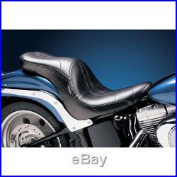 LePera Stitch 2-Up Full-Length Sorrento Seat 1984-99 Harley Softail FXST/FLST