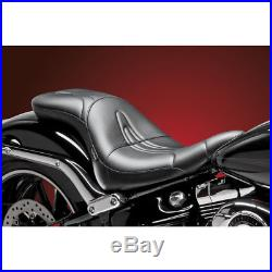 LePera Stitch 2-Up Full-Length Sorrento Seat for 2013-16 Harley Softail FXSB