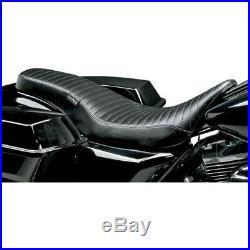 Le Pera Cobra Full-Length sella Pleated Harley Davidson Touring 08-17