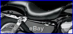 Le Pera LCK-866 Silhouette Full Length Seat Harley 07-09 XL with 4.5 Gallon Tank