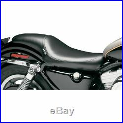Le Pera L-866 Silhouette LT Smooth Full Length Low Profile Seat Harley XL 82-03