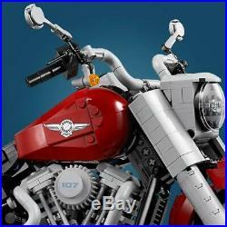 Lego creator harley davidson fatboy Height 20 cm, width 18 cm, length 33 cm