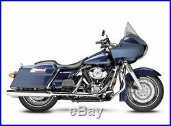 Lepera Black Silhouette Full Length Seat Harley Electra Road Glide Touring FLTR