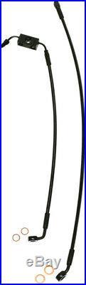 Line brake front xr blk LENGTH 81 5 cm (32) HARLEY DAVIDSON DYNA ABS ST